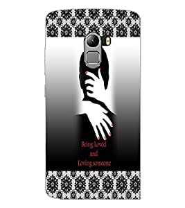 PrintDhaba Quote D-3261 Back Case Cover for LENOVO K4 NOTE A7010 (Multi-Coloured)