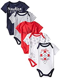 Nautica Baby-Girls Newborn 5 Pack Ame…