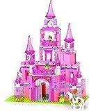 Princess Pink Castle - Build it yourself - Building Blocks - 472pcs