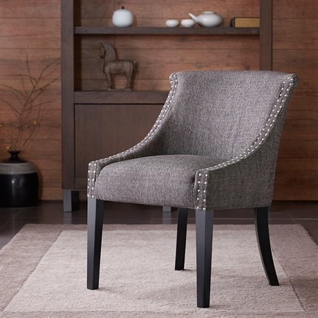 Madison Park Caitlyn Roll Back Accent Chair Living Room Furniture