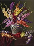 Fioratura by Christopher Pierce Tile Mural for Kitchen Backsplash Bathroom Wall Tile Mural