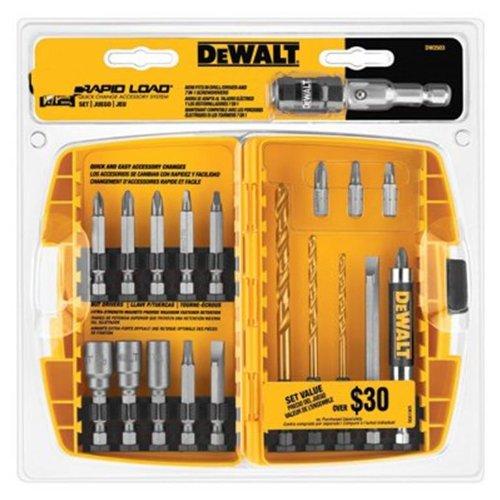 DEWALT DW2504 Compact Rapid Load Set, 27-Piece (Dewalt 35 Piece compare prices)