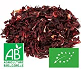 Fleurs d'Hibiscus Bio séchées 200g