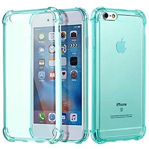 TOMKAS iPhone 6 6s Case Soft Matt Bumper Shock Absorbent and Scratch Resistant Cover Case