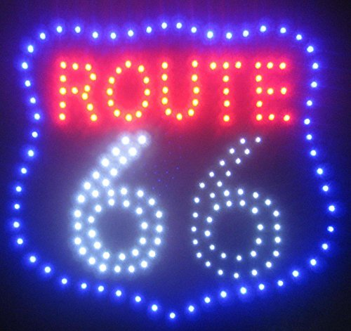 Creative Motion Route 66 LED Sign