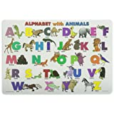 Painless Learning Alphabet with Animals Placemat ~ Painless Learning