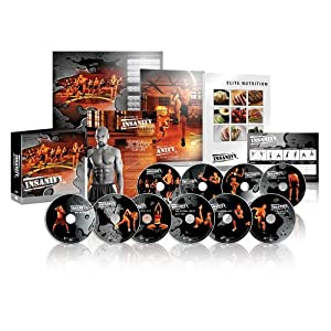 Insanity Workout 60 Day Bundle with Fast and Furious 20 Minute DVD Set by Deluxe Bundle