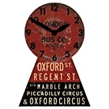 Oxford Street Bus Wall Clock