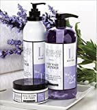 Archipelago Botanicals Lavender Set - 33oz. Body Wash 18oz. Body Lotion 8oz. Body Butter