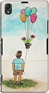 xperia z1 back case cover ,First Flight Of The Plant Designer xperia z1 hard back case cover. Slim light weight polycarbonate case with [ 3 Years WARRANTY ] Protects from scratch and Bumps & Drops.
