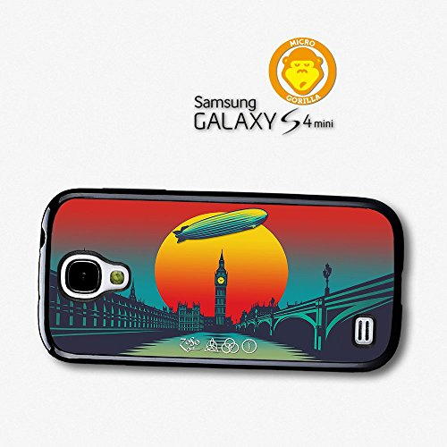 Led Zeppelin Sunset Illustration London Case For Samsung Galaxy S4 Mini A6250