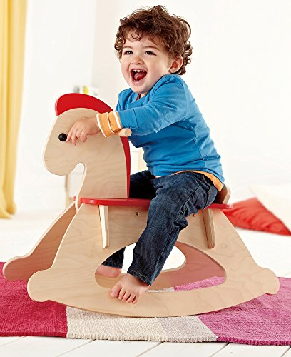 Hape - Rock and Ride Wooden Rocking Horse