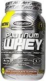 MuscleTech Platinum 100% Whey Supplement, Milk Chocolate Supreme, 2 Pound