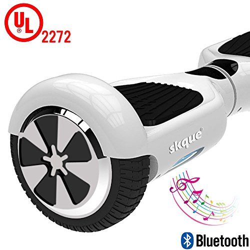 Self-Balancing-Scooter-Skque-65-I12-UL2272-Smart-Two-Wheel-Self-Balancing-Electric-Scooter-with-Bluetooth-Speaker-and-LED-Lights-White