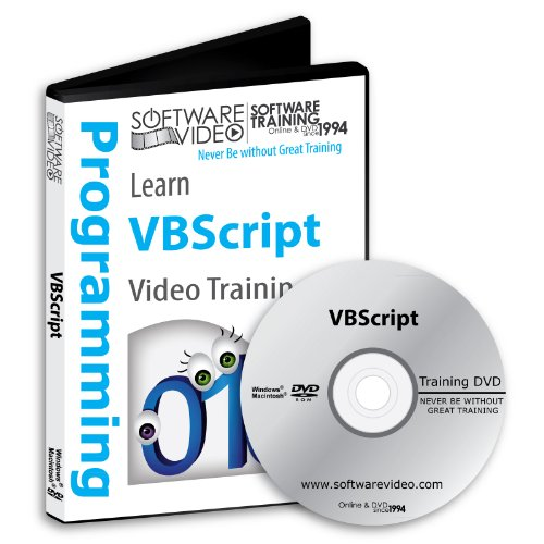 Software Video Learn Vbscript Training Dvd Sale 60% Off Training Video Tutorials Dvd Over 5 Hours Of Video Training