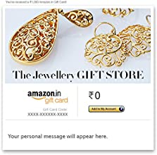 Jewellery Gift Store - Coloured - E-mail Amazon.in Gift Card