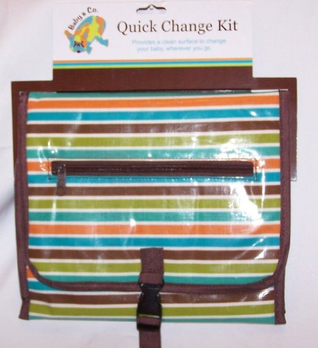 Kalencom Baby & Co. Quick Change Kit - Stripes