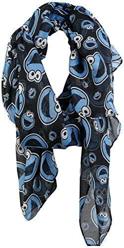 sesamstrasse-krumelmonster-kopfe-schal-schwarz-blau-weiss