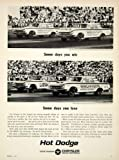 1964 Ad 1963 Dodge 330 2 Door Sedan Ramcharger Drag Race Stock Car Jim Thornton - Original Print Ad