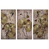 Uttermost, Lotus I Ii Iii Set of 3, Art