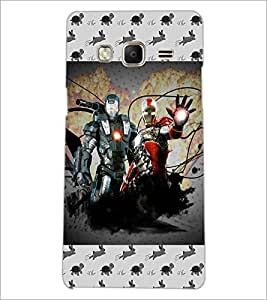 PrintDhaba Warriors D-6027 Back Case Cover for SAMSUNG Z3 (Multi-Coloured)