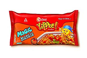 Sunfeast Yippee Noodles - Magic Masala Four in One Pack, 280 g Pack