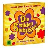 """Die wilden Siebziger - Die komplette Kultserie mit Ashton Kutcher und Topher Grace (200 Folgen auf 32 DVDs, hochwertige Box im Plattenalbum-Format)von """"Ashton Kutcher"""""""