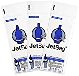 Jet Bag Bold - The Original ABSORBANT Reusable and Protective Bottle Bags - Set of 3 - Made in the USA