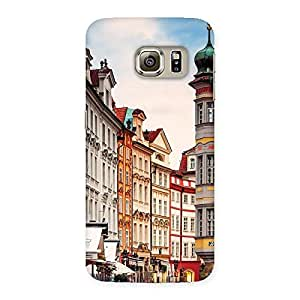 Special Prague Street Multicolor Print Back Case Cover for Samsung Galaxy S6 Edge Plus