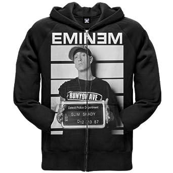 eminem mugshot zip hoodie x large co uk clothing