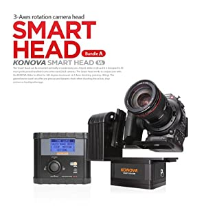 Konova Timelapse / Smart Head for Pan and Tilt Bundle A