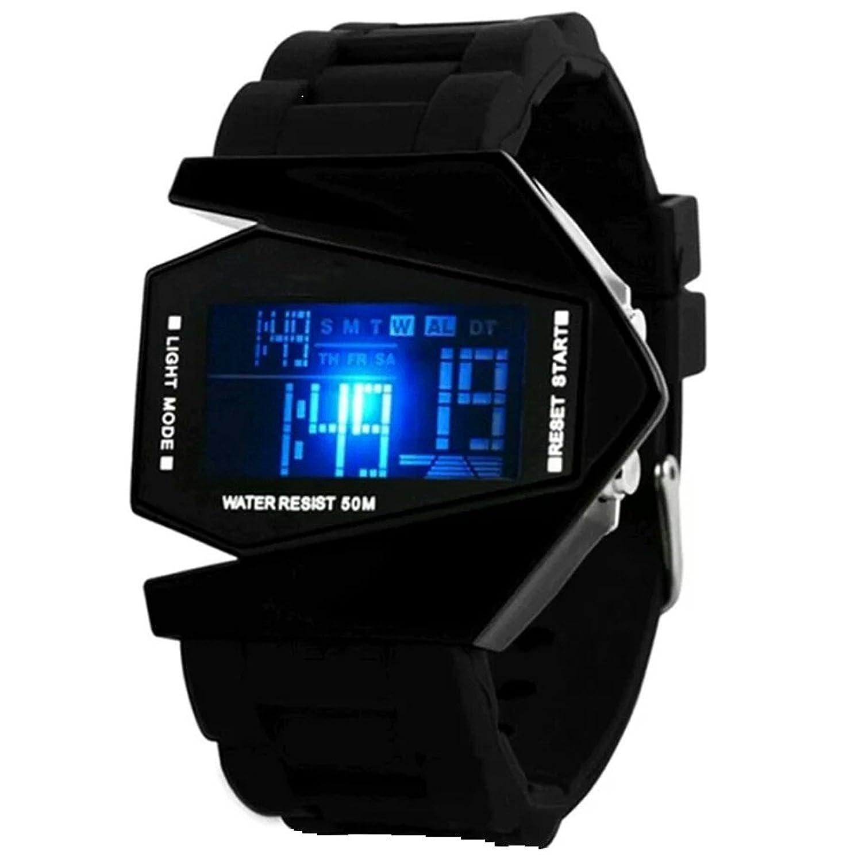 Deals on Digital Black Dial Boy's And Men's Watch