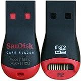 サンディスク Sandisk MicroSD/microSDHC用カードリーダ/ライター USB2.0対応 純正 CR0003 (簡易包装バルク品)