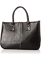 Bundle Monster Womens PU Faux Leather 2 Large Compartment Magnetic Snap Purse