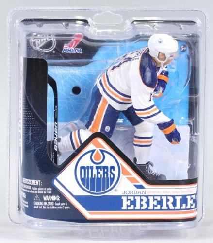 McFarlane Sportspicks: NHL Series 32 Jordon Eberle - Edmonton Oilers CHASE VARIANT WHITE JERSEY 6 inch Action Figure