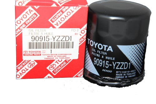 Toyota highlander 2007 oil filter location for Toyota genuine motor oil equivalent