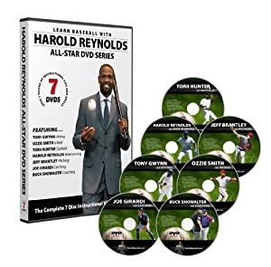 Harold Reynolds All-Star Baseball Instructional DVD Series by Harold Reynolds