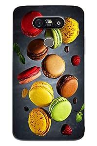 Blue Throat Colored Burger Printed Designer Back Cover For LG G5