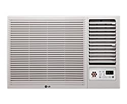 LG LWA5CT5A L-Crescent Terminator Window AC (1.5 Ton, 5 Star Rating, White)