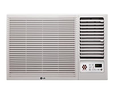 LG LWA5CT3A L-Crescent Terminator Window AC (1.5 Ton, 3 Star Rating, White)