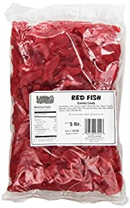 Land Of The Gummies Ju Ju, Red Turkish Fish Large, 5 Pound