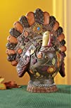 Country Turkey Lighted Thanksgiving Decoration