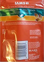 Iams Proactive Health Daily Treats for Cats, 2.47 Oz (Chicken, Hairball Care), Large