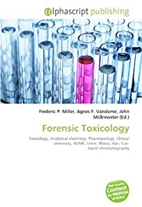 forensic chemistry and toxicology pdf