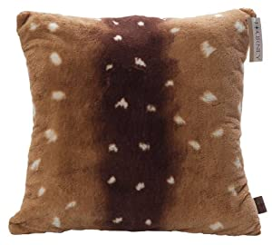 Faux Deer Hide Pillows : Amazon.com - Scene Weaver Journey Decorative Throw Pillow, Axis Deer, 22-Inch - Faux Fur Pillow