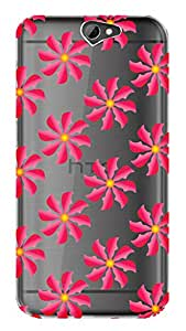 WOW Transparent Printed Back Cover Case For HTC One A9