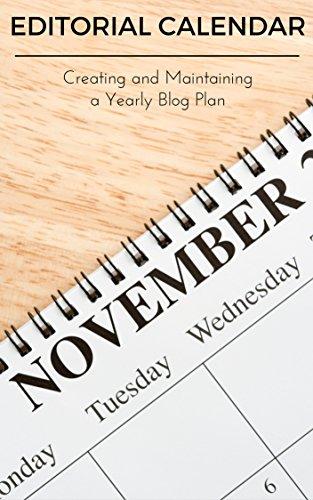 Creating a Blog Editorial Calendar