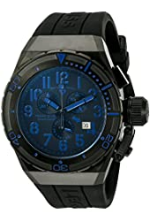 Swiss Legend Men's 'Trimix Diver 2.0' Swiss Quartz Stainless Steel Automatic Watch (Model: 13842-BB-01-BLA)