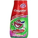 Colgate Kids 2 In 1 Toothpaste & Mouthwash, Watermelon Flavor, 4.6 oz