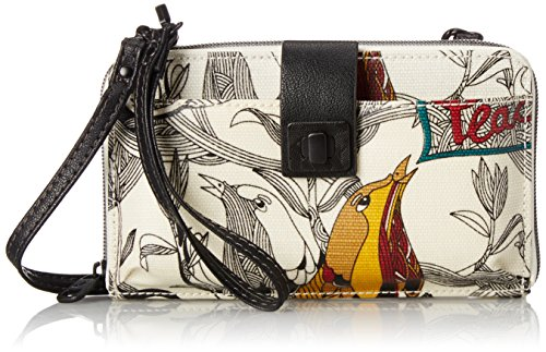 Sakroots Artist Circle Large Smartphone Cross Body Phone Wallet, Natural Peace, One Size